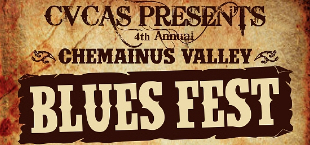 Chemainus Blues Festival - July 8 & 9, 2017. Waterwheel Park, Chemainus, BC